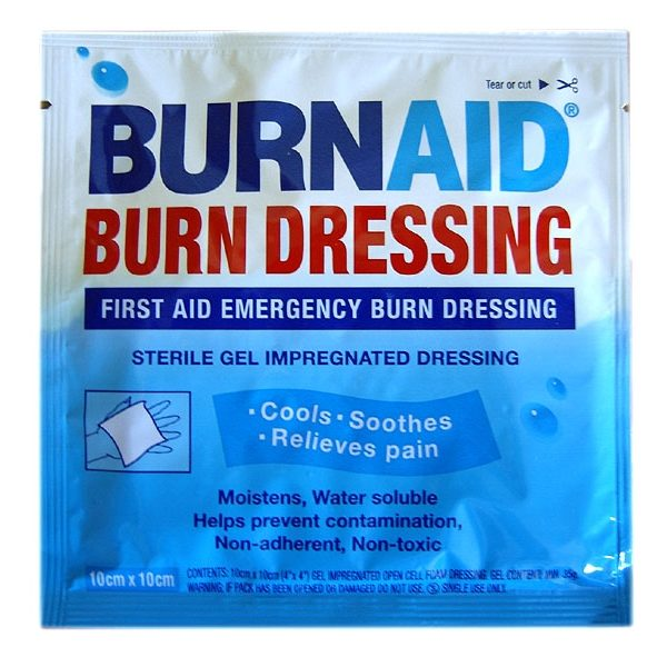 BurnAid 4x4 Dressing