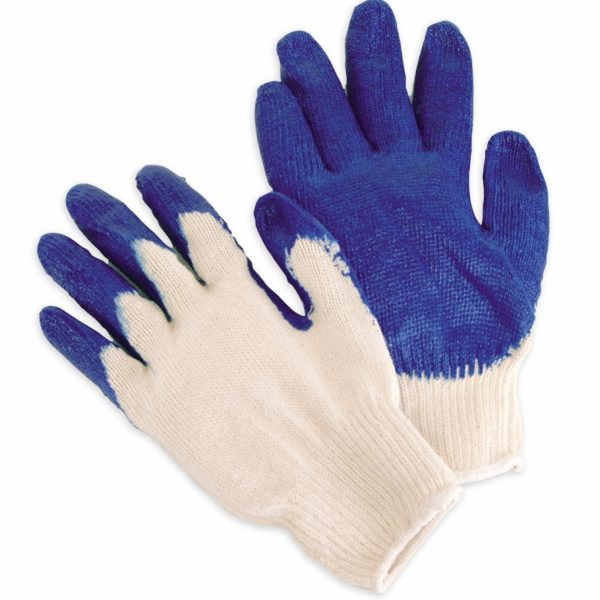 Coated Blue Latex Palm/Fingertips