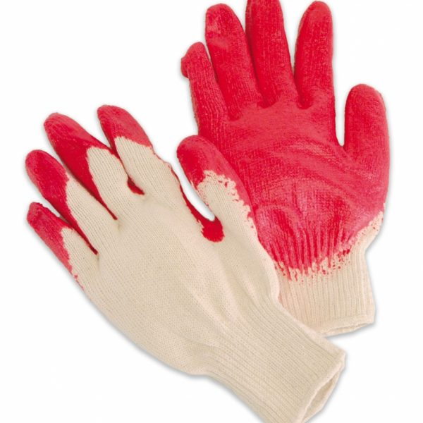 Coated Red Latex Palm/Fingertips