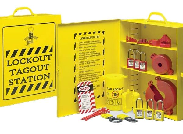 Lockout / Tagout Station