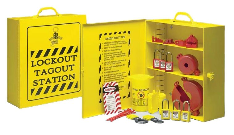 Lockout/Tagout Kits & Stations