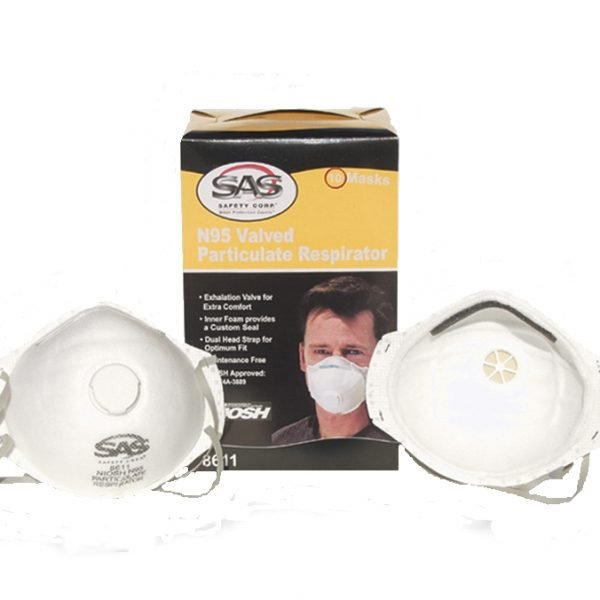 Mask - N95 Particulate Mask with Valve