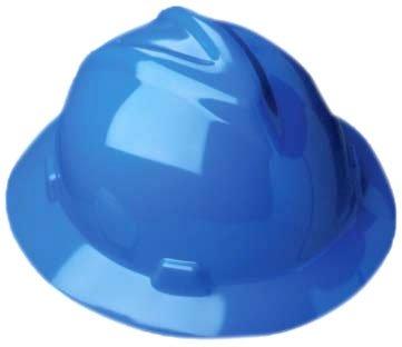MSA V-Gard Hard Hat (full-brim style)