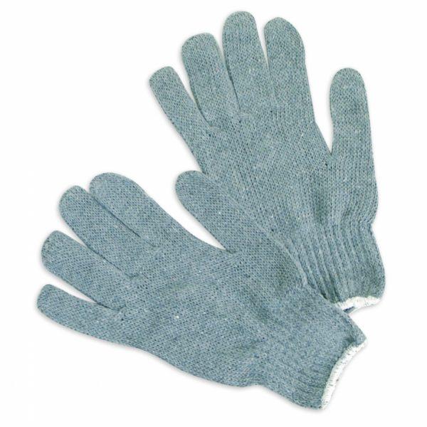 Multi-Purpose Gray Fabric Work Gloves