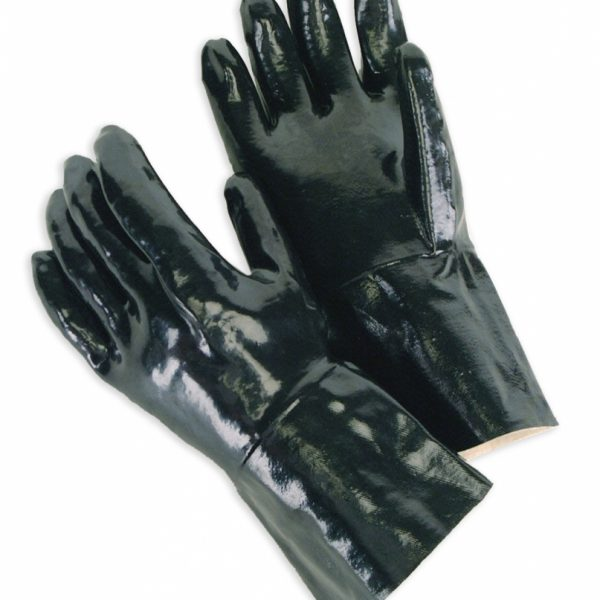 "Neoprene Fully Coated With 12"" Gauntlet Smooth Finish"