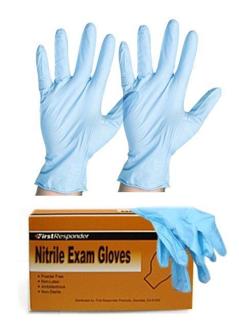 Nitrile Exam Gloves, 4/box