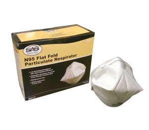 Particulate Respirator: Surgical Masks, N95 Flat Fold Particulate Respirator