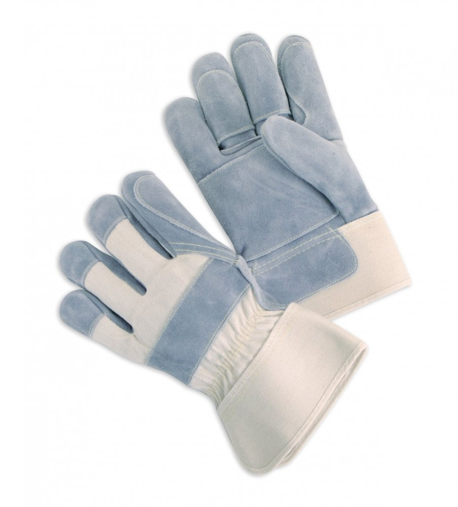 Premium Side Leather Palms With Double Palm And Fingers