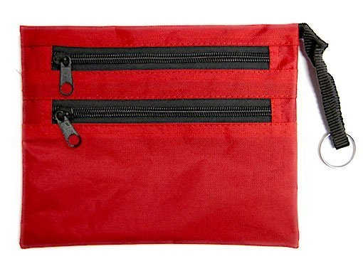 Red Nylon Pouch