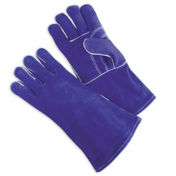 Welders Blue Side Leather