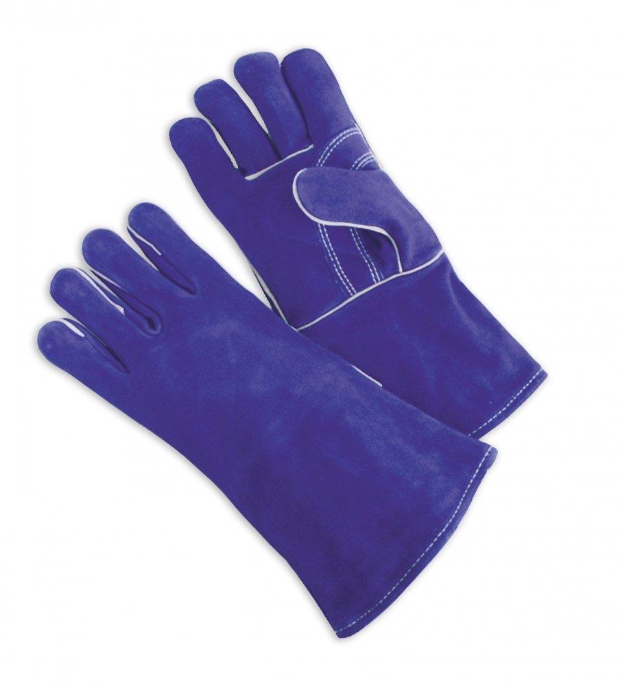 Welders Blue Side Leather