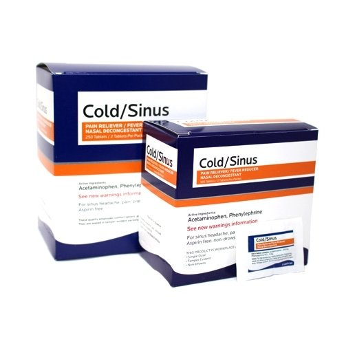 Cold/Sinus Tablet